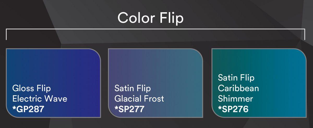 3M 1080 Color Flip Vinyl Wrap