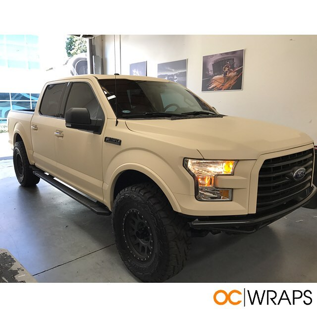 Lexus Fort Worth >> Ford f150 wrapped in Orafol 970RA Papyrus vinyl