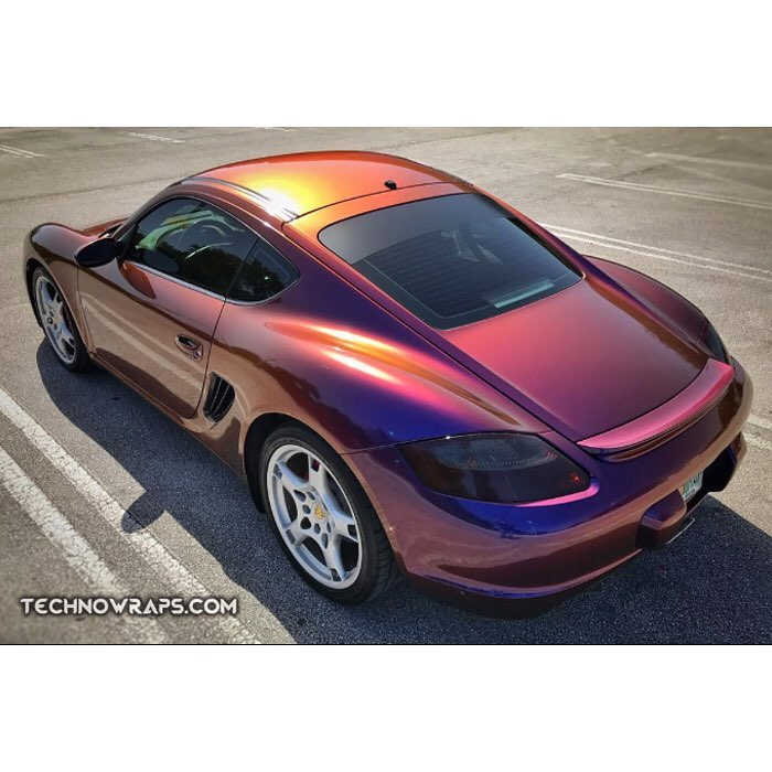 Lexus San Diego Home Facebook >> Porsche wrapped in Avery ColorFlow Gloss Roaring Thunder ...