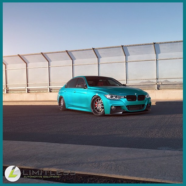 Bmw Wrapped In 3m 1080 G356 Gloss Atomic Teal
