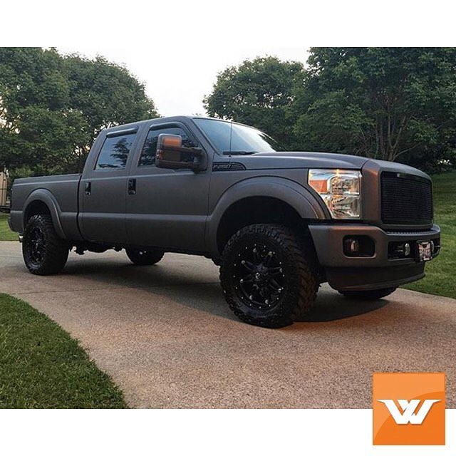 Ford Wrapped In Avery Sw Matte Charcoal Metallic Vinyl