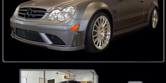 Mercedes Benz wrapped in 1080 Matte Dark Grey vinyl