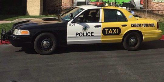 Taxi wrapped in custom printed with inkjet printer on IJ180Cv3 vinyl
