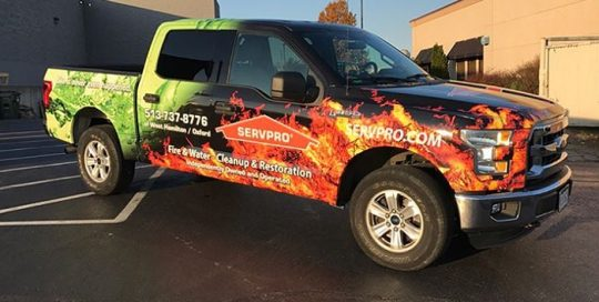 Ford F150 wrapped in custom printed 3M IJ180Cv3 vinyl with 8519 Luster overlaminate