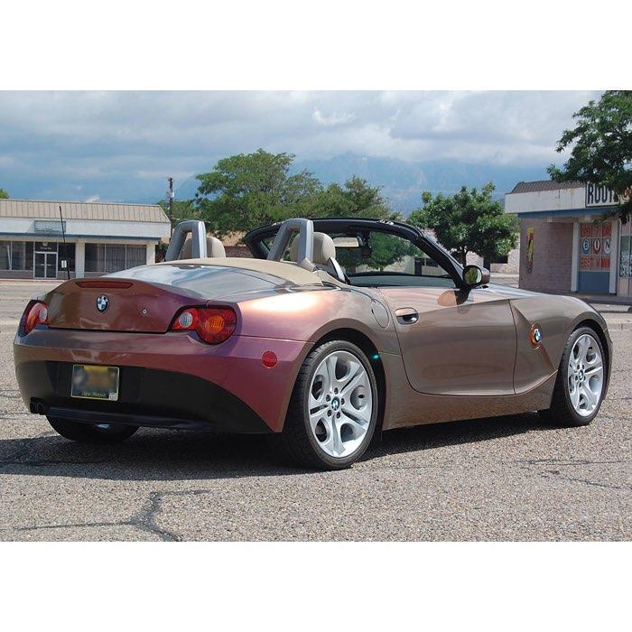 Bmw Z4 Blog: BMW Z4 Wrapped In Orafol Shift Effect Gloss Aubergine