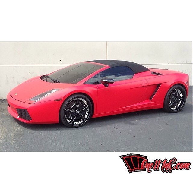Lamborghini Gallardo Red