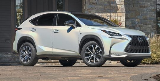 Lexus NX300 Warapped in 3M 1080 Gloss Flip Ghost Pearl Vinyl
