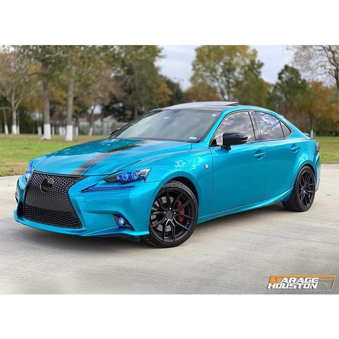 Lexus Wrapped in Gloss Atomic Teal vinyl