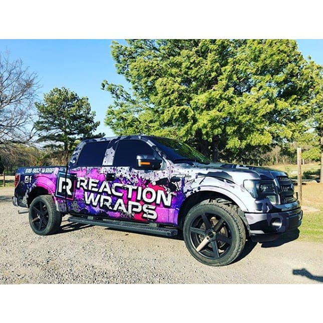 Ford F150 wrapped in 3M IJ180mC-120 Metallic Satin White Aluminum and 8518 Gloss