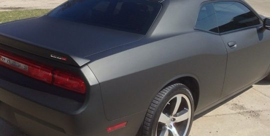 Dodge Challenger wrapped in 3M1080 vinyl