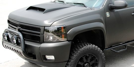 Chevrolet wrapped in 1080 Matte Black