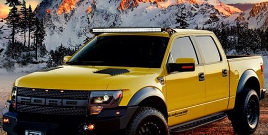 Hennessey Velociraptor wrapped in 1080 Gloss Yellow and Satin Black vinyl
