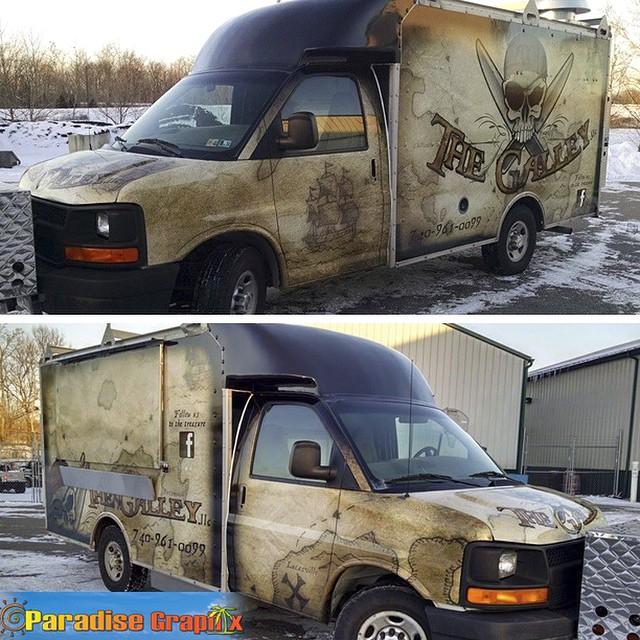 Commercial Van wrapped in IJ180Cv3 vinyl