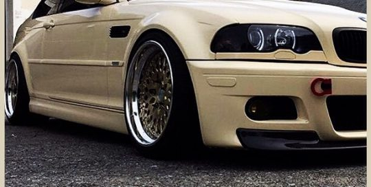 Bmw M3 wrapped in 1080 Gloss Light Ivory vinyl