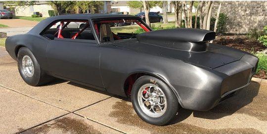 Chevrolet Camaro wrapped in Avery SW Brushed Black Metallic vinyl