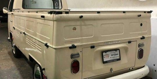 Volkswagen wrapped in 3M 1080 Gloss Light Ivory vinyl